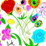 Flores De Primavera  Art Print