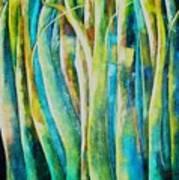 Floresta Verde  Art Print