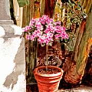 Floret Nouveau Art Print