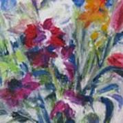 Floribunda Bouquet Art Print
