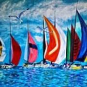 Florida Bay Art Print