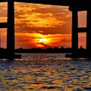 Florida Before Sunset  Art Print