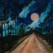 Florida Burn - Creative Tallahassee 2009 Art Print