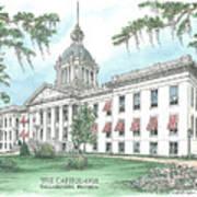 Florida Capitol 1902 Art Print