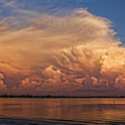 Florida Cloudscape Art Print