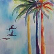 Florida Color Art Print