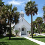 Florida Community Chapel Art Print