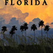 Florida Poster Art Print