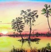 Florida Splendor Art Print