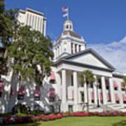 Florida State Capitol Building Art Print