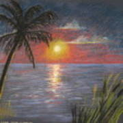 Florida Sunset Art Print