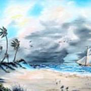 Florida Tempest Art Print