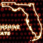 Florida - The Sunshine State Art Print