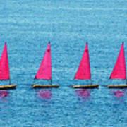 Flotilla Art Print