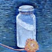 Flour Verses Flower Art Print