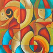 Floutine With Rhythm Art Print