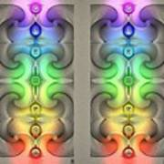 Flow - Stereogram Art Print