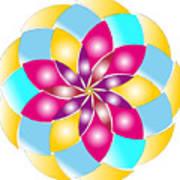 Flower 1317 - Abstract Art Print - Fantasy - Digital Art - Fine Art Print - Flower Print Art Print