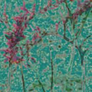 Flower Arches Art Print
