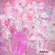 Flower Art The Scent Of Love Is In The Air Art Print