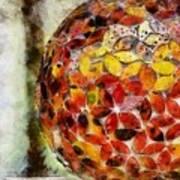 Flower Ball Art Print