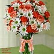 Flower Bouquet Creations Catus 1 No. 1 Art Print