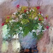 Flower Bowl Art Print