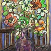 Flower Burst Art Print by Ethel Vrana