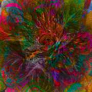 Flower Candy Art Print