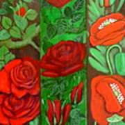 Flower Composition 4 Art Print