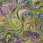 Flower Composition Art Print