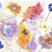 Flower Connection Art Print
