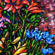 Flower Culture 213 Art Print