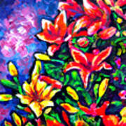 Flower Culture 297 Art Print