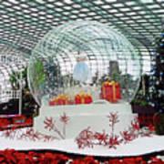 Flower Dome 2 Art Print