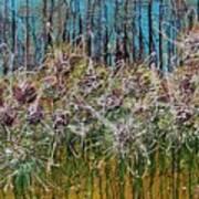 Flower Energy Art Print