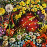 Flower Extravaganza Art Print