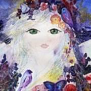 Flower Fairy Art Print