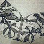 Flower Fossil Art Print