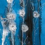 Flower Lineup Art Print