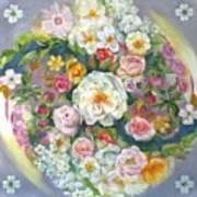 Flower Mandala #1 Art Print