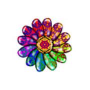 Flower Mandala 6 Art Print