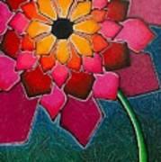 Flower Mandala-a Art Print