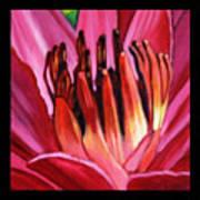 Flower Number One Art Print
