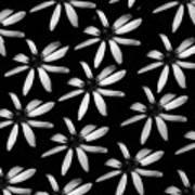 Flower Paper Art Print
