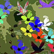 Flower Power 48 Art Print