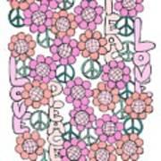 Flower Power 8 Art Print
