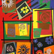 Flower Study 2 Print by Teddy Campagna