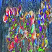 Flower Trees Art Print