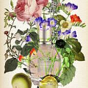 Flowerbomb Notes 3 - By Diana Van  Art Print